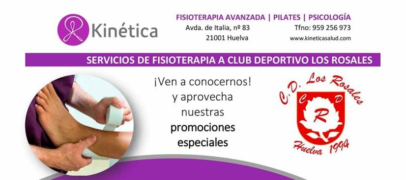 El Club Deportivo Los Rosales ya cuenta con nuestro servicio de fisioterapia especial para clubs
