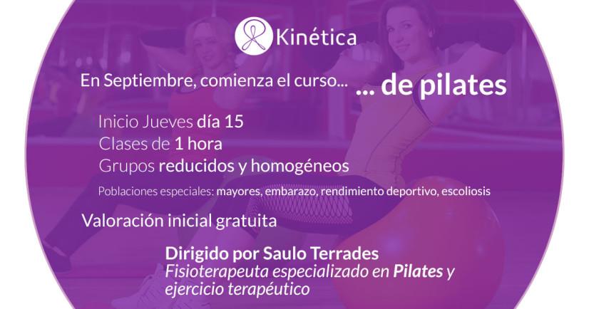 En septiembre comenzamos nuestros cursos de Pilates